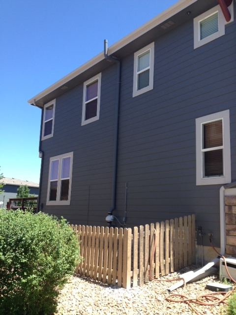 Radon System installed on a home in Littleton, Colorado