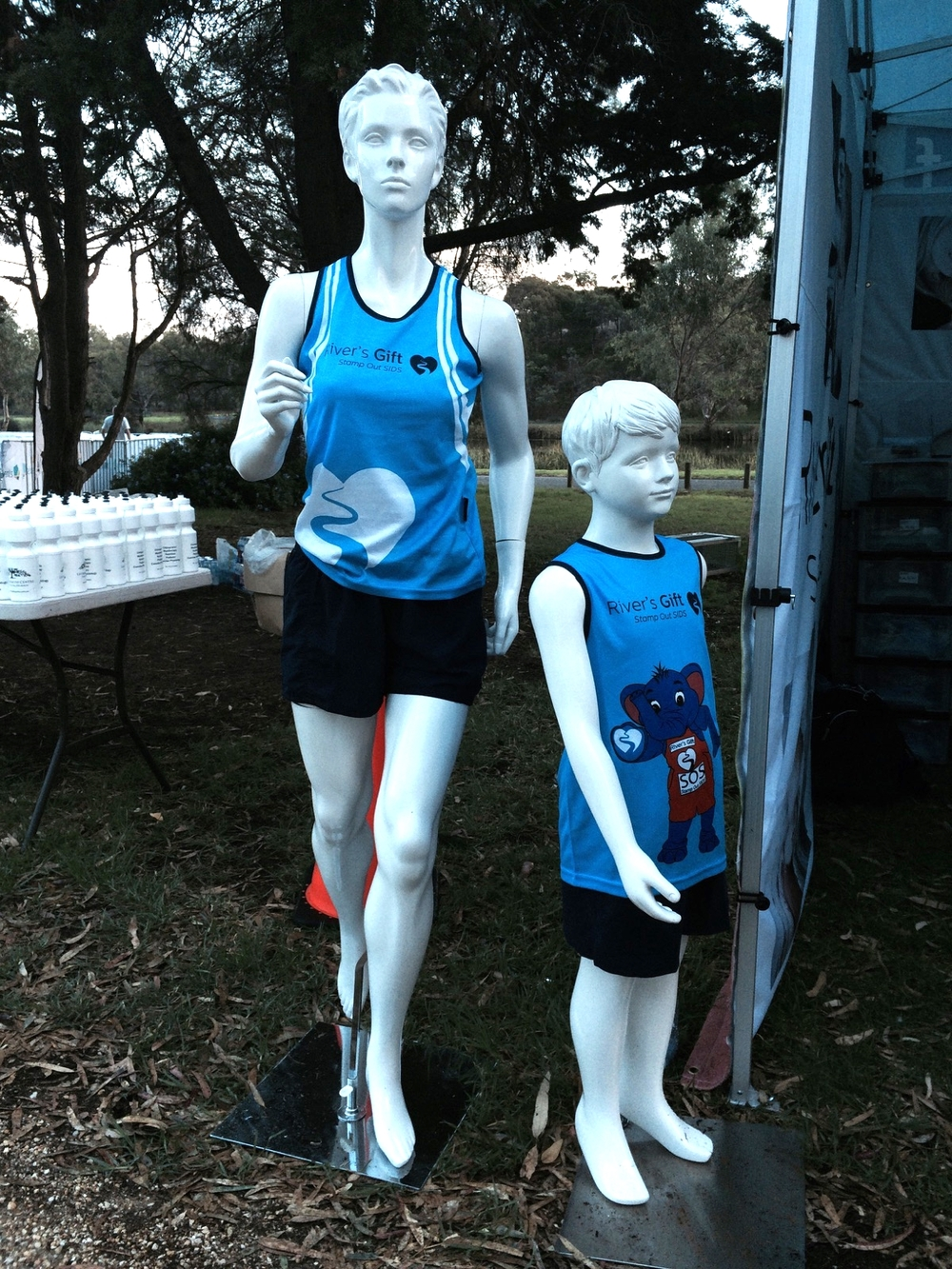 Rivers Gift mannequins