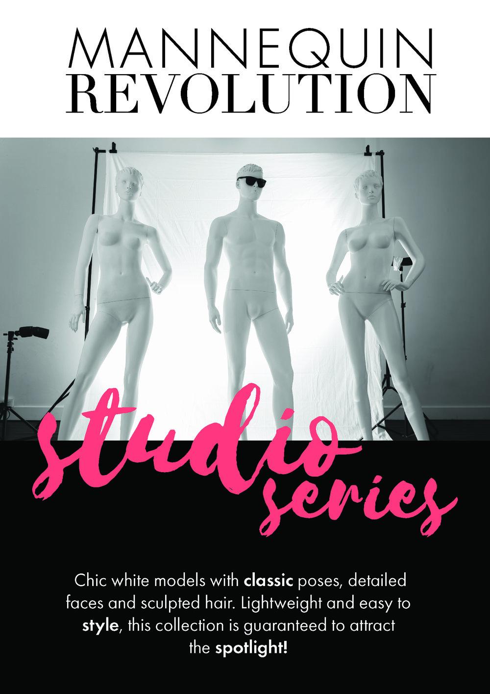 Mannequin Revolution Studio Series