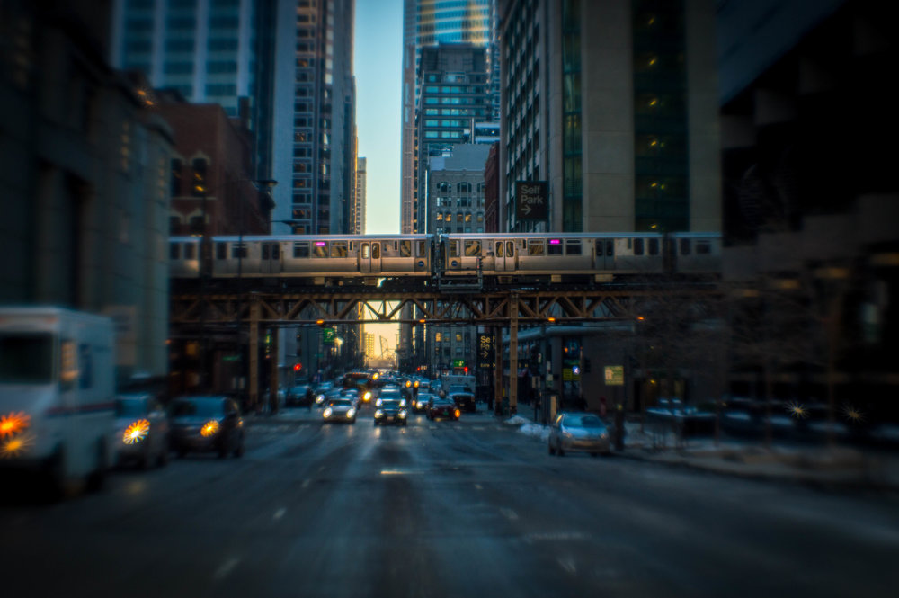The Loop - This was taken on my Nikon D5500 in Chicago and edited in Adobe Lightroom.