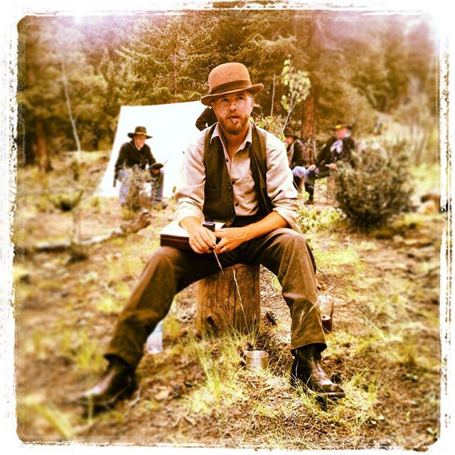Higgins as Dr. Middleton @docmiddleton #oldwest #documentary #calamityjane