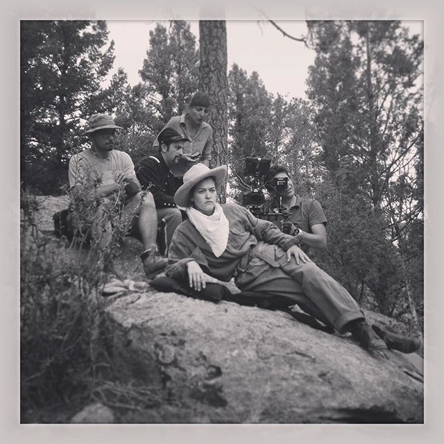 Calamity and the crew #documentary #calamityjane #oldwest #girlpower #cowgirl #redrockmicro #smallhd
