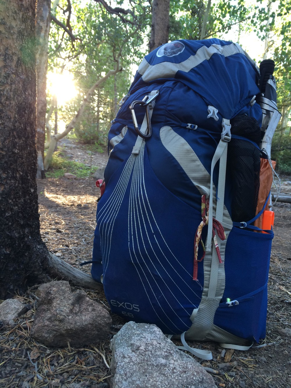 My trusty Osprey pack. PHOTO BY WILLOW BELDEN