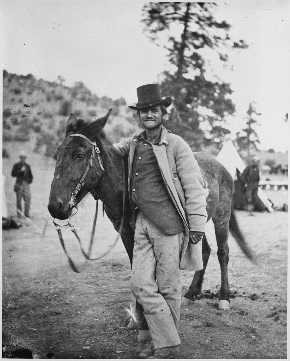 Frederick Wadsworth Loring. (photo by timothy o'sullivan, photographer for the wheeler expedition)