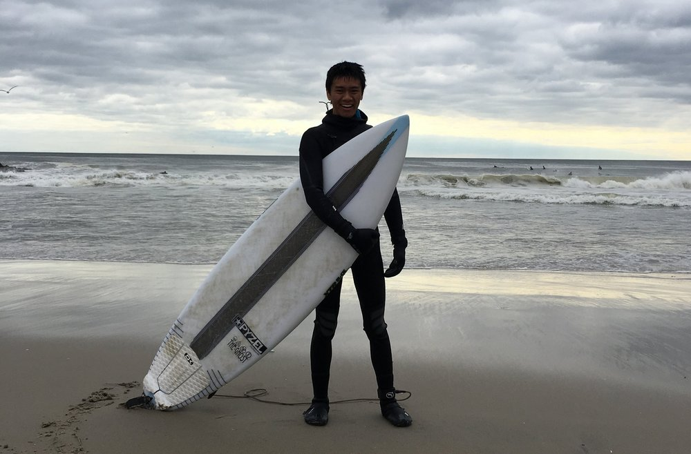 Angus Chen is a reporter, surfer, and climber based in Brooklyn, NY.