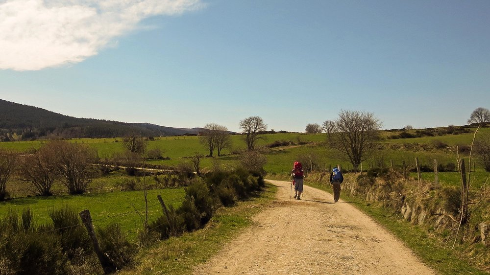 Hikers on The Camino De Santiago (Photo by Beth Jusino)