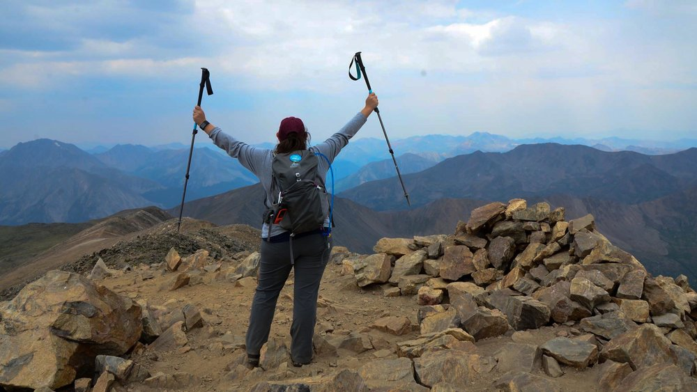 The solo hike that put everything into perspective. (Photo courtesy Mara Kuhn)