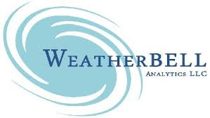 WeatherBell kept it simple and to the point. Named Storms: 7-9, Hurricanes 3-5, Major Hurricanes: 1-2.