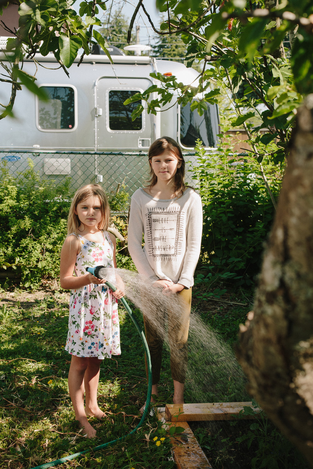 Maddie and sister. For Peacemaking Book.