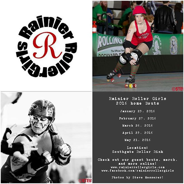 JUST A MONTH AWAY!!! But there's still time to get you VIP passes! http://m.bpt.me/event/2472101 #rollerderby #season5 #rainierrollergirls #ericvonflickrphotography #stevemessererphotography