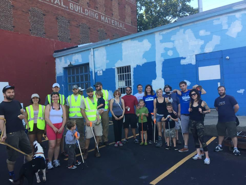 NoLi trash cleanup event group photo 2015-8-3.jpg