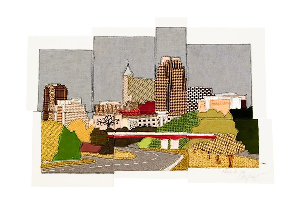 Raleigh City Skyline, 2015