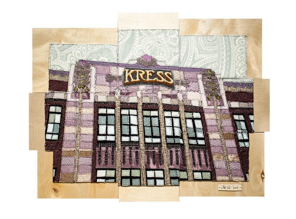 The Kress Building, Durham, NC, 2017