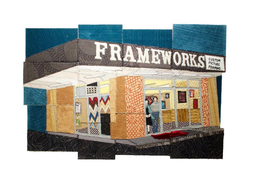 Frameworks, Raleigh, NC, 2017