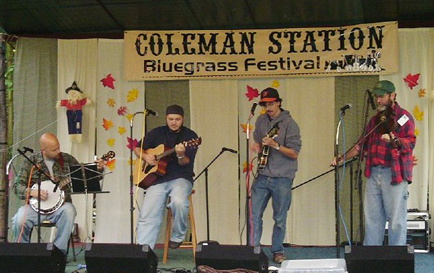 The Coal Mountain Ramblers 9/15/06 Coleman Station Bluegrass Festival