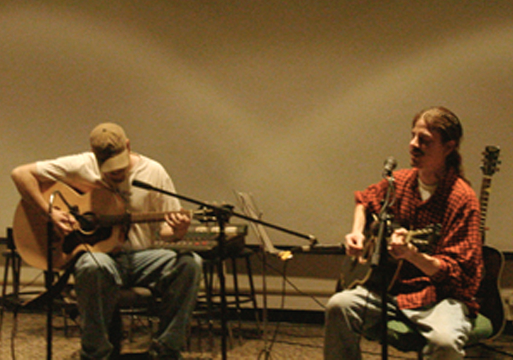 "Mark Calhoun & Andrew Luttrell 11/18/01 Station Auditorium, Baltimore MD ""The Honey Mustard Memory Lapse"" Acoustic"