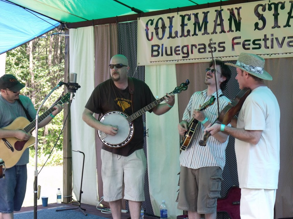Coal Mountain Ramblers 7/24/10 Coleman Station Bluegrass Fest