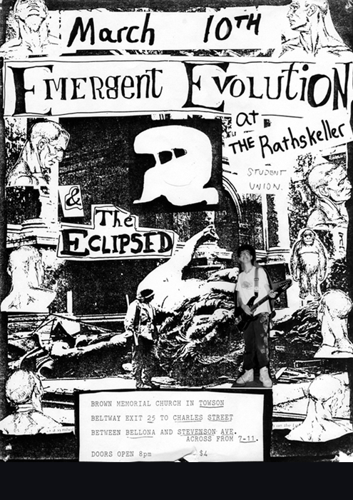 Emergent Evolution 1989 Poster