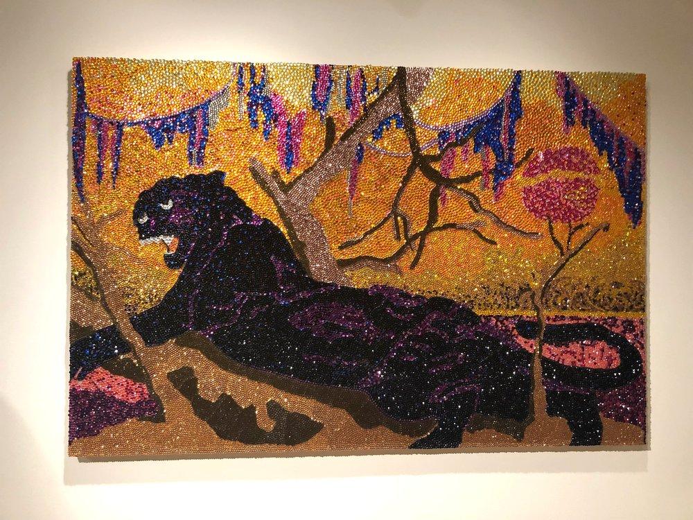 Panthera, 2002 -  Mickalene Thomas