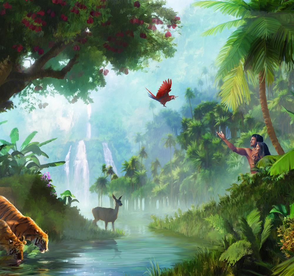 Garden Of Eden Landscape: Justinen Creative Group