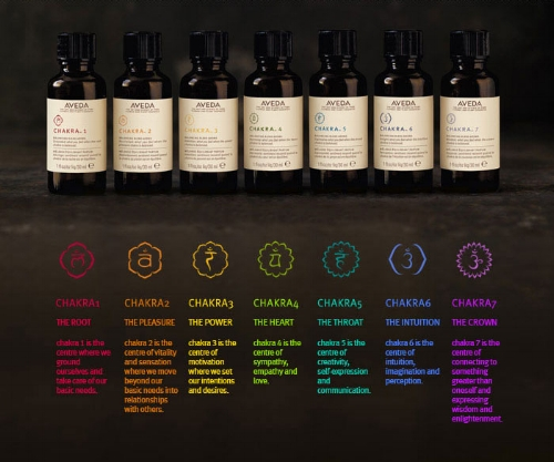 *Experience AVEDA Chakra Body Mists at Mezz Spa