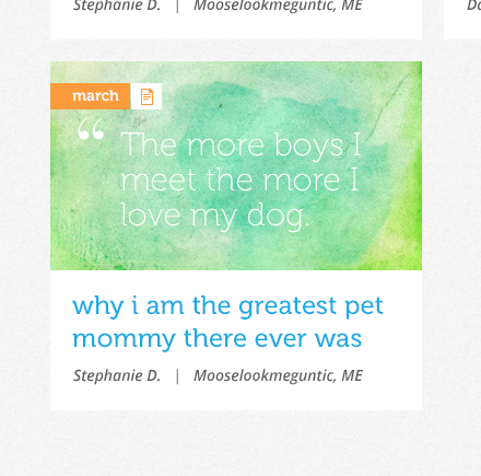 Wholepets for Petco Online Community