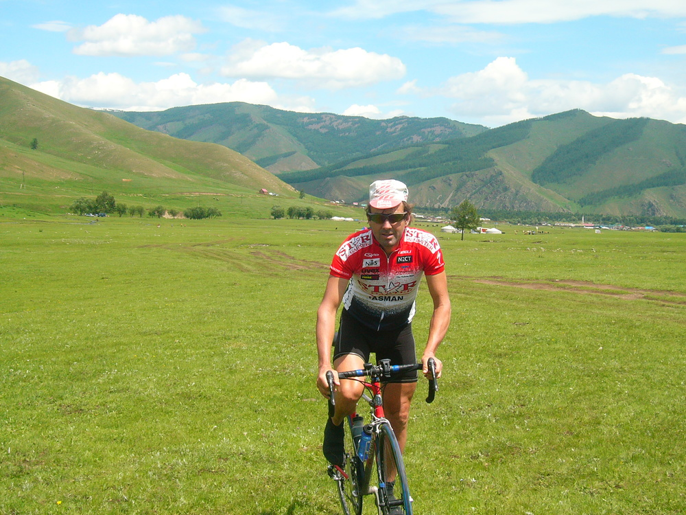 the grass is so smooth one can ride almost anywhere in Mongolia