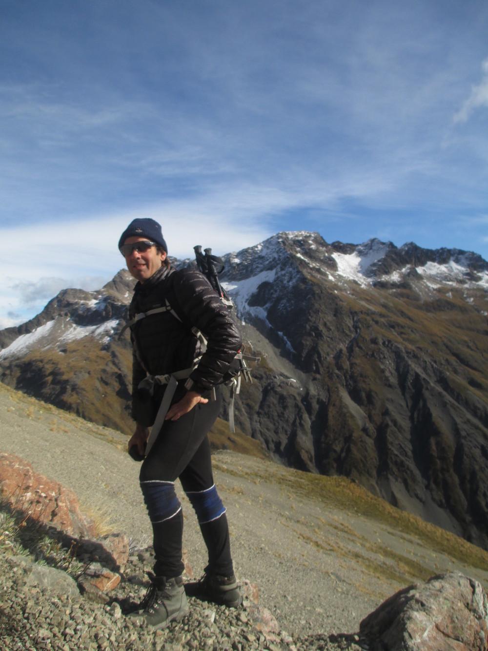 Autumn climb 2014 up Point 2142m , Chittenden behind