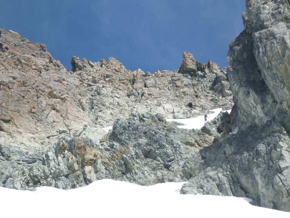On the upper ramparts of Mount Hopeless