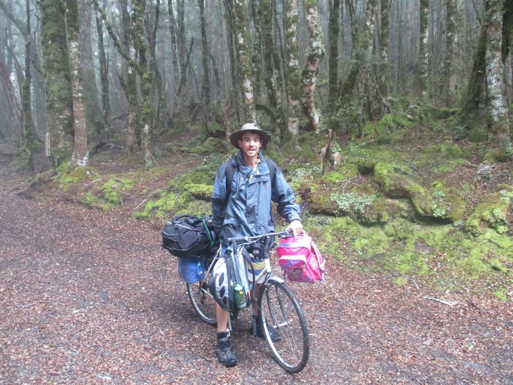 Carls idea of bike touring