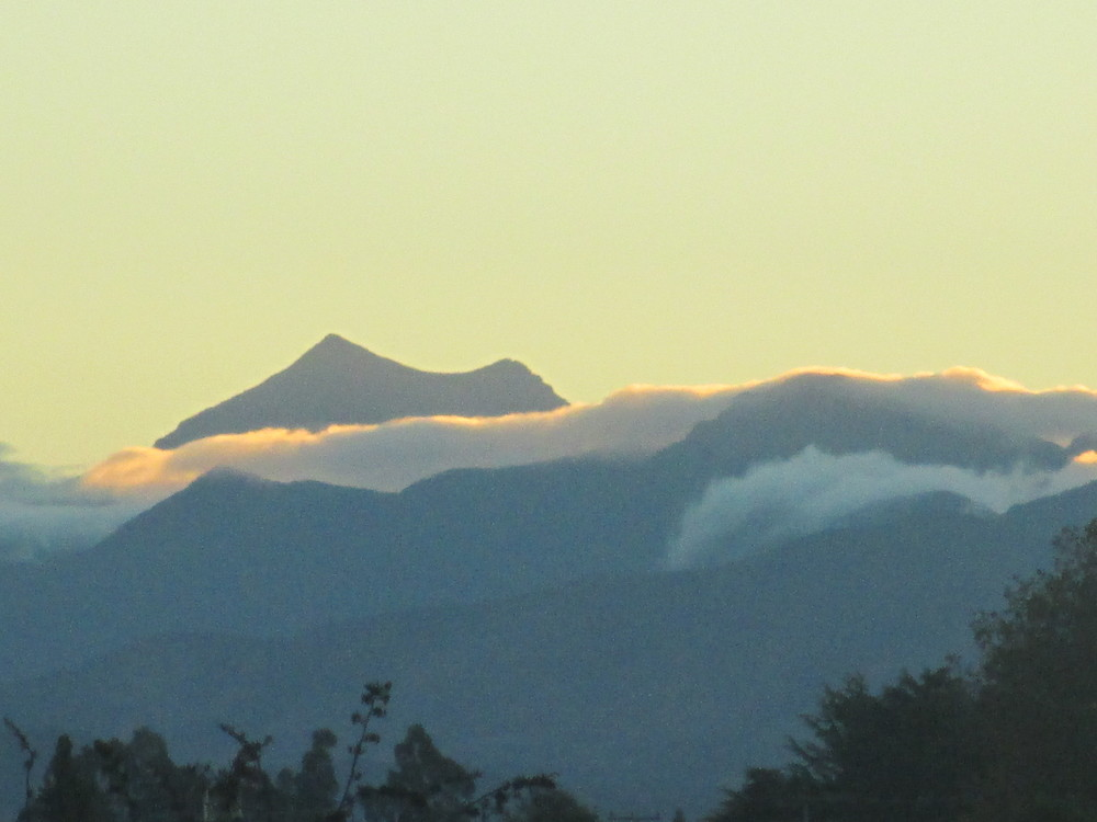 Mt Fishtail in the Richmond ranges