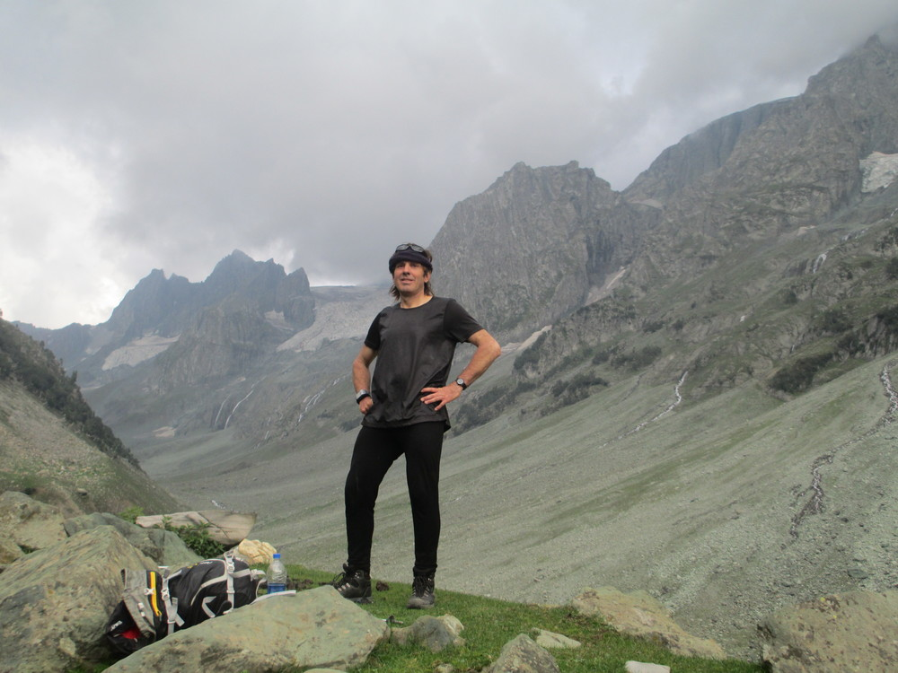 Hiking above Sonamarg