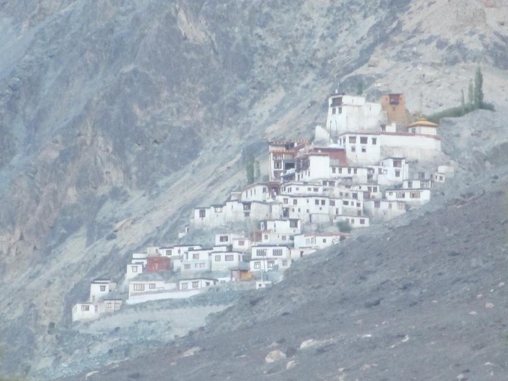 Monastery Diskit Nubra Valley