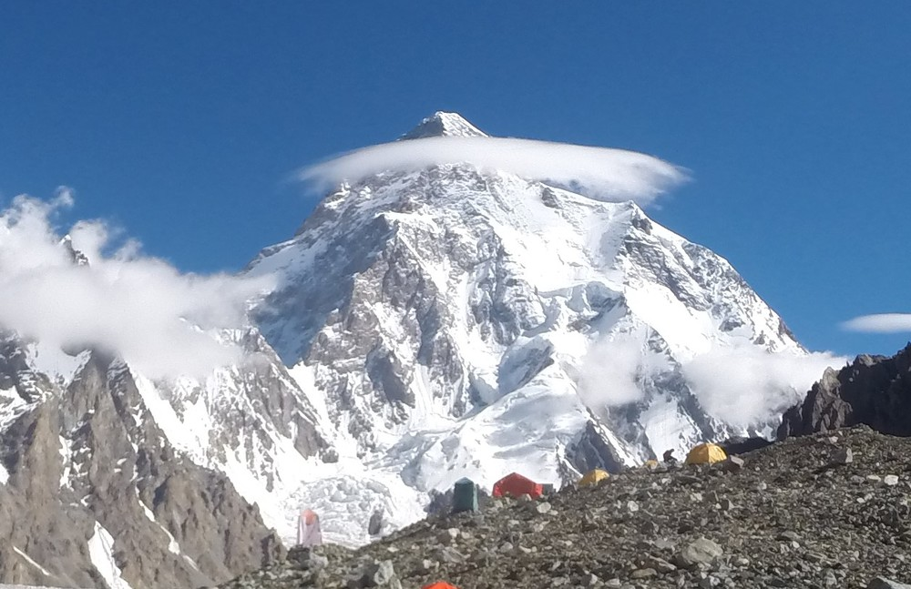 K2 from Broad Peak Base camp
