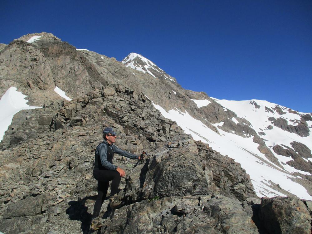 On the Rome ridge, Arthurs pass National park late 2015
