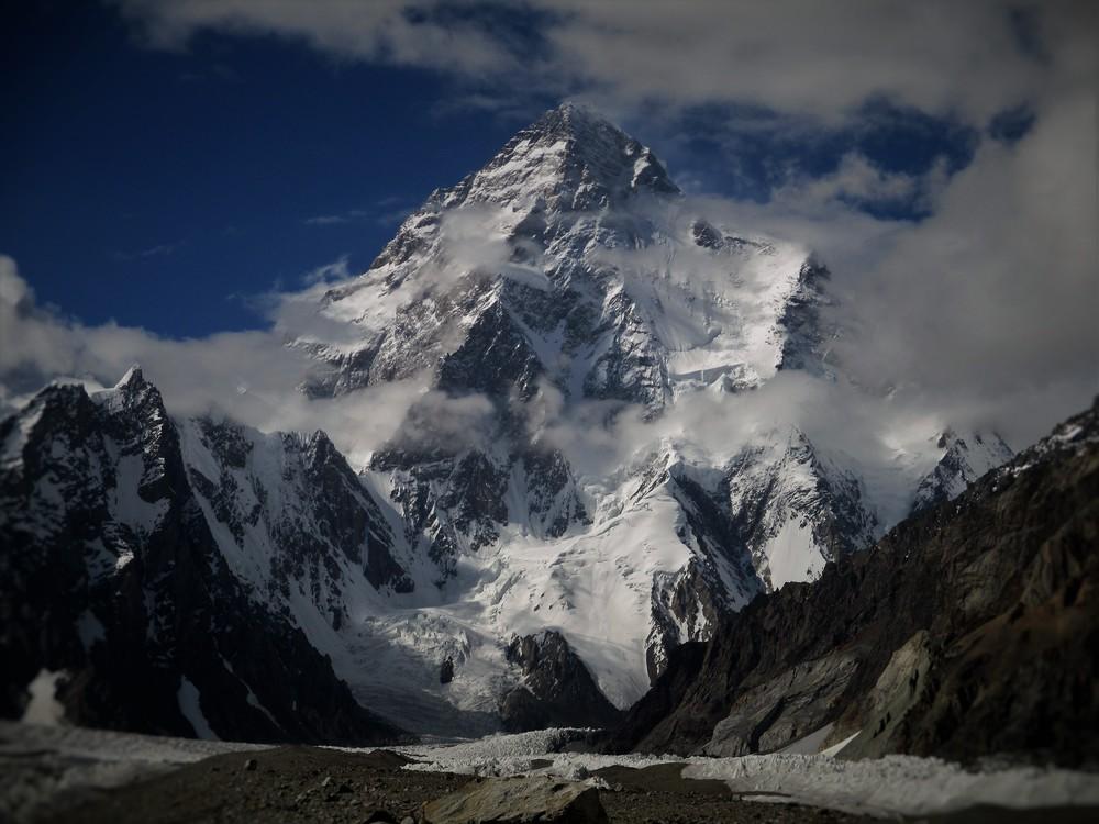 K2 - Mountain of Mountains (from Broad Peak Base camp)