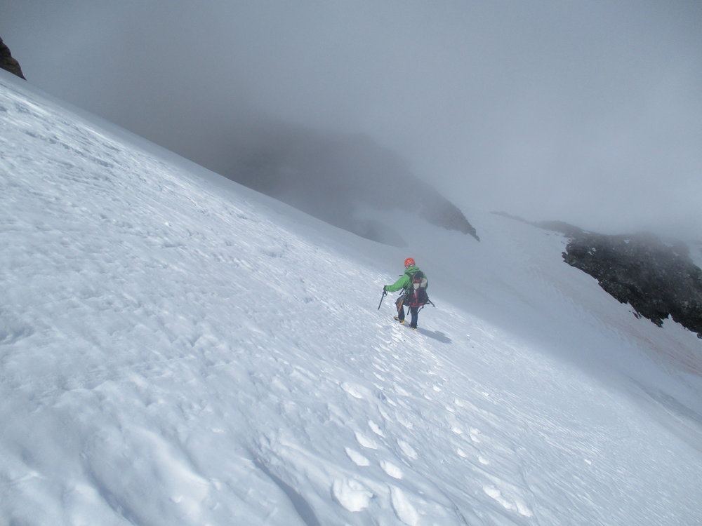 Jerome on the Glacier