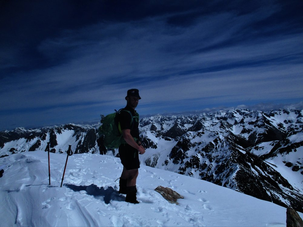 Brent tops out on the Alps
