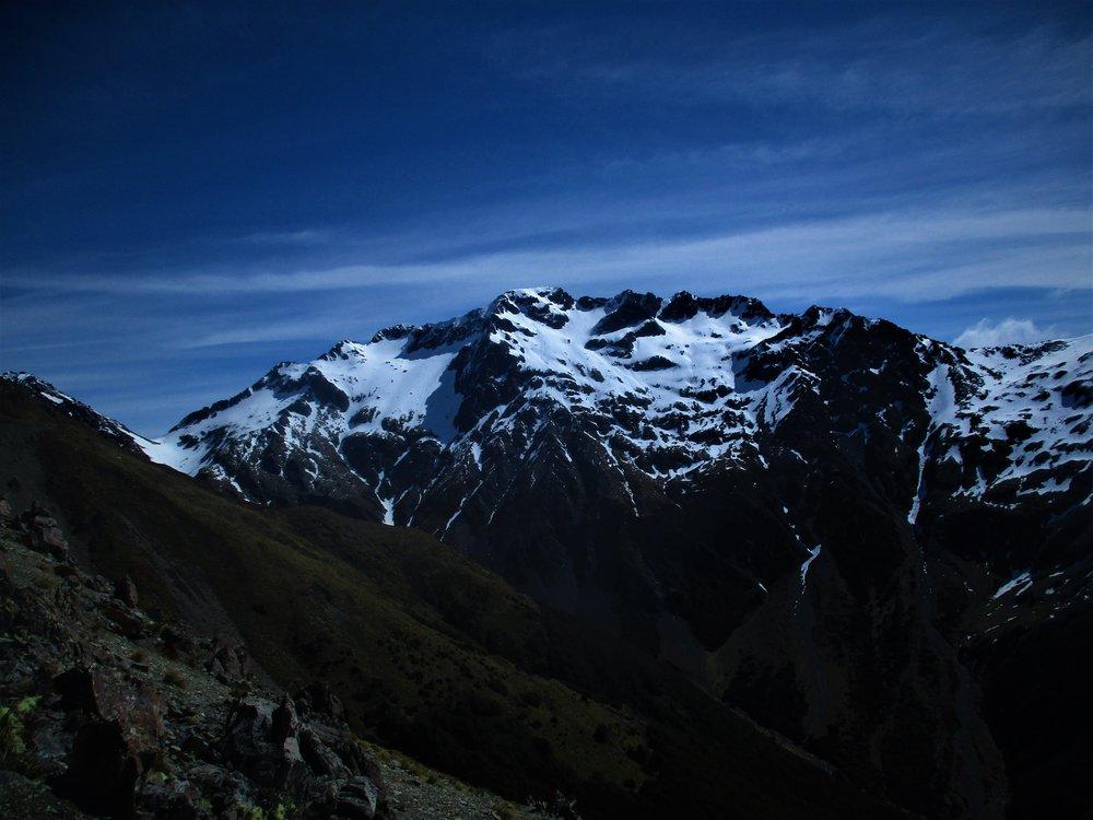 Mt Chittenden 2215m from 2142.