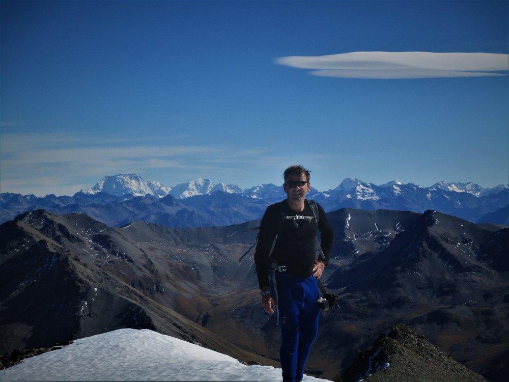 Leaving Mount Fox
