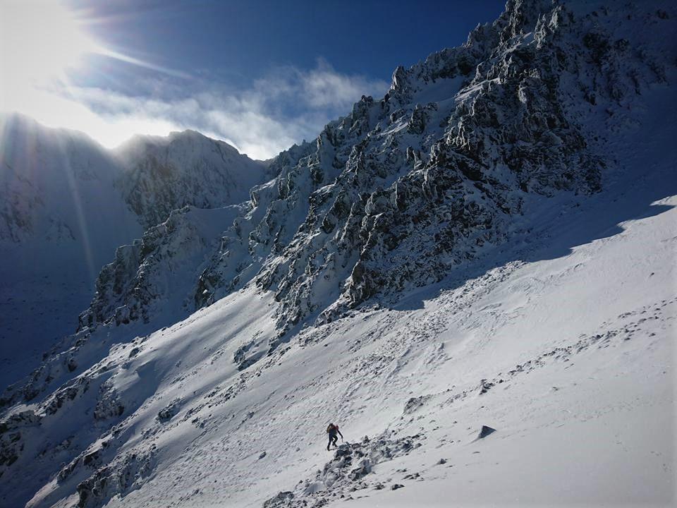 The long slog up Mt Tapuae-o-Uenuku
