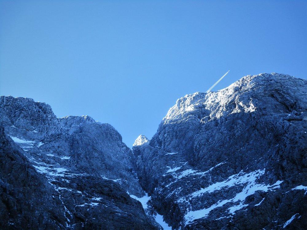 Early winter on Winter peak