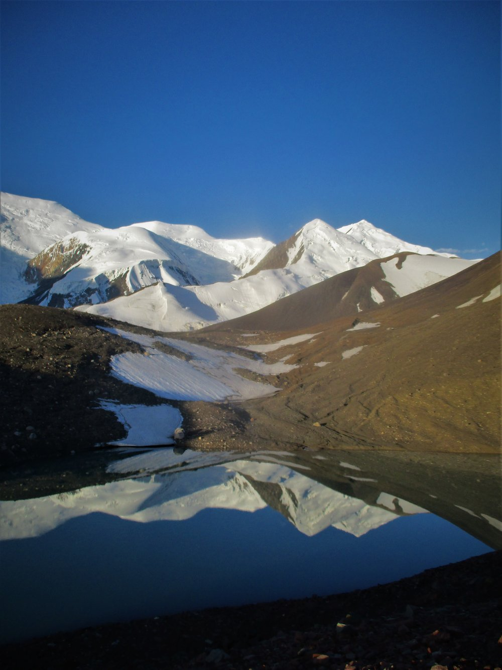 The Pamirs reflected