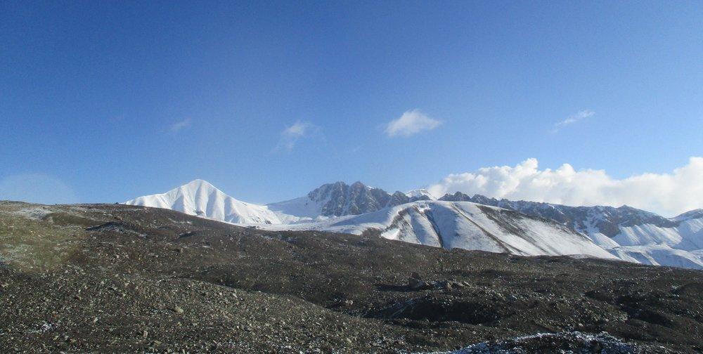 Endless Alpine mountyain chains