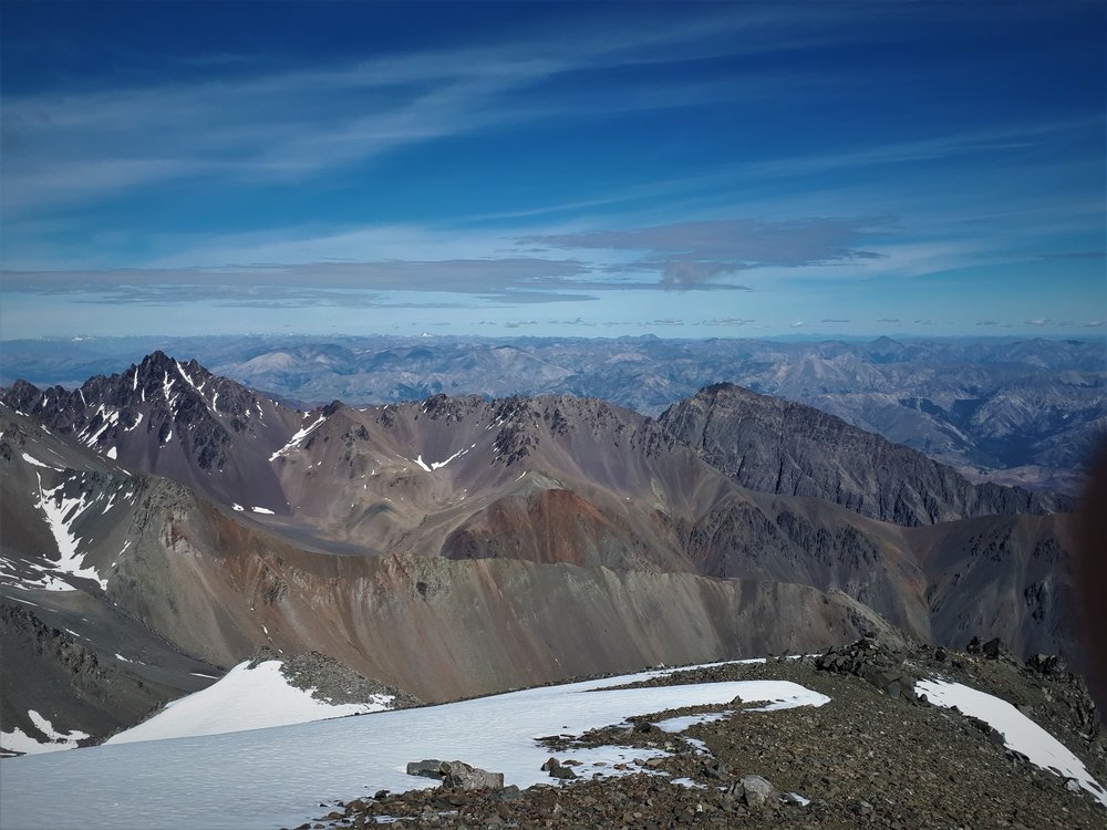 Looking West to Mitre peak