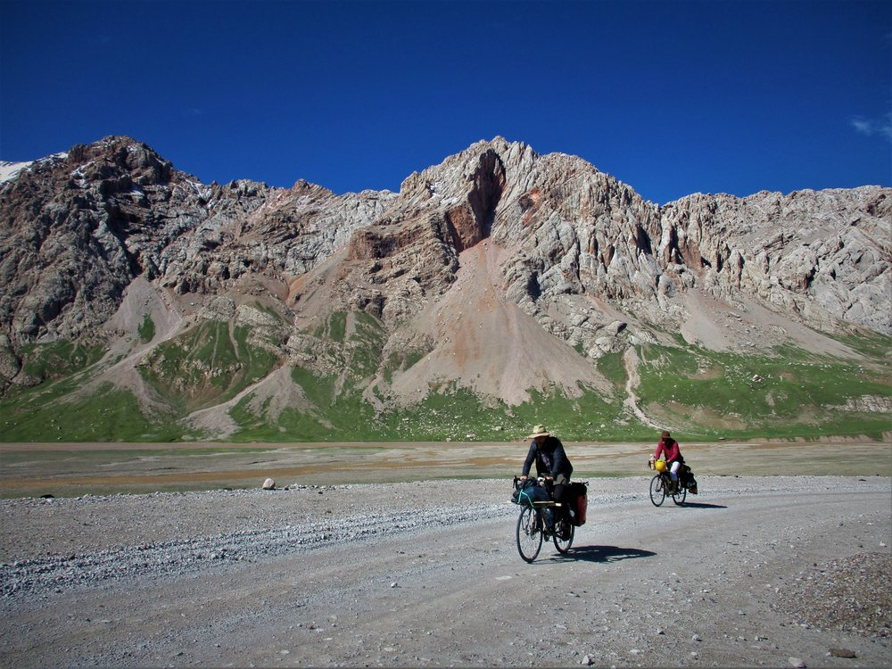 It was 3 long days ride and about 300 kms all up  from Yushu to the bridge head where we could access our chosen mountains.