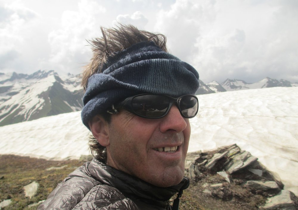 Kaghan Valley - on top of a small peak on the ridge , Rajkot 3930m