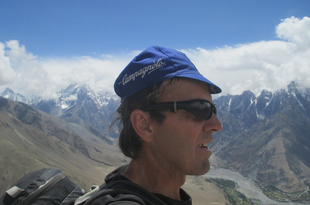 At 4450m , 1650m straight up from Sost
