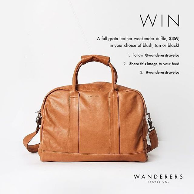 Oooh, love this, actually have my eye on a cute little cross body bag from this company too! #wandererstravelco