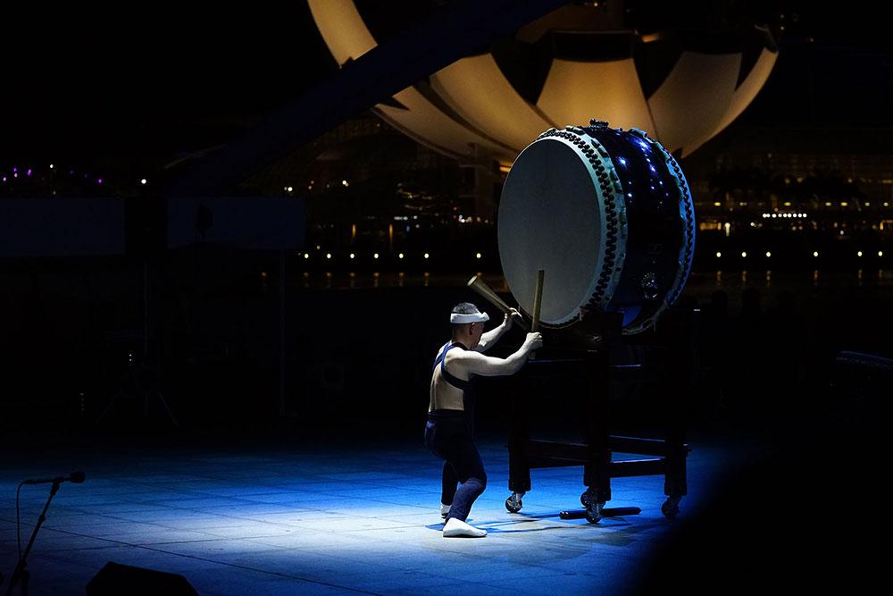 Kodo Drummer by Andrew Gurnett